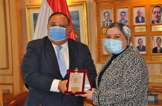 جامعة حلوان تكرم عميدة حقوق عقب تعيينها نائبًا لرئيس المحكمة الدستورية العليا |صور