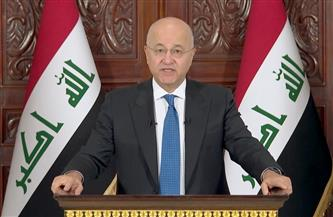 الرئيس العراقي يؤكد أهمية تطوير العلاقات مع السعودية
