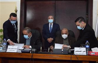 بروتوكول تعاون بين وزارة التموين ومحافظة الإسماعيلية لإنشاء مناطق لوجستية وتجارية| صور