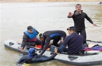انتشال جثة طالب غرق بنهر النيل بسوهاج