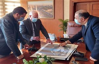 محافظ بورسعيد يتابع تنفيذ أحدث محطتين للغاز مع شركة «غازتك» | صور
