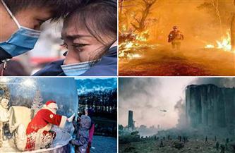 «عام استثنائي».. صور لن ننساها من 2020 قبيل دقائق على رحيله| صور