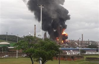انفجار فى ثانى أكبر مصفاة للنفط في جنوب إفريقيا