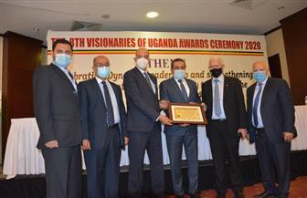 """""""المقاولون العرب"""" تفوز بشهادة أفضل شركة في أوغندا للعام الثالث على التوالى"""