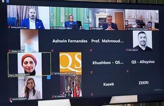 جامعة عين شمس تشارك في ندوة التحول الرقمي في الجامعات| صور