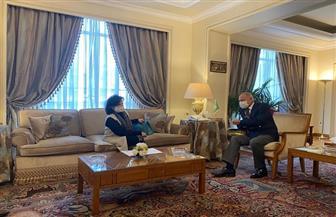 مي بنت محمد تبدأ أولى جولاتها الرسمية لدعم ترشيحها لمنصب أمين عام منظمة السياحة العالمية من مصر