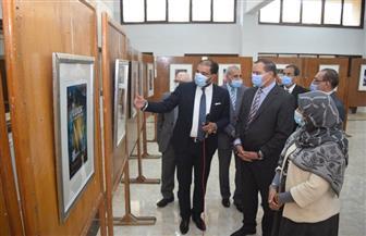 """جامعة سوهاج تروج للسياحة الداخلية بالأقصر بافتتاح معرض """"مراكب"""" صور"""