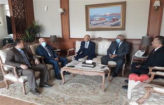 محافظ بورسعيد يستقبل وفدا من هيئة النيابة الإدارية لمناقشة زيادة التعاون   صور