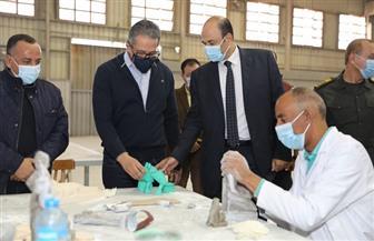 وزير السياحة والآثار يتفقد مصنع المستنسخات الأثرية الجديد تمهيدا لافتتاحه الوشيك   صور