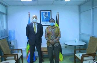 سفير مصر بكمبالا يناقش مع سكرتير خارجية أوغندا زيادة التبادل التجاري