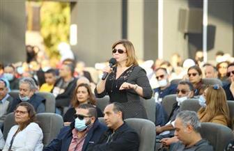 """خلال ندوة تكريمه.. يسرا لـ وحيد حامد:""""أنت حتة من مصر الجميلة"""".. وإلهام شاهين:""""شكلتني كممثلة""""  صور"""