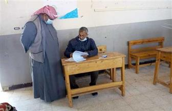 فتح اللجان لاستقبال الناخبين في جولة الإعادة لمجلس النواب بشمال سيناء   صور