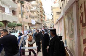 توافد الناخبين للإدلاء بأصواتهم في انتخابات الإعادة بالدقهلية |صور