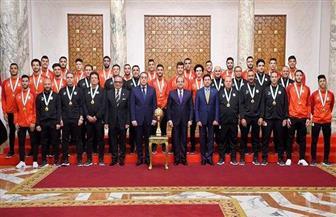 اتحاد الكرة يحتفي بذكرى تكريم الرئيس السيسي للمنتخب الأوليمبي   فيديو
