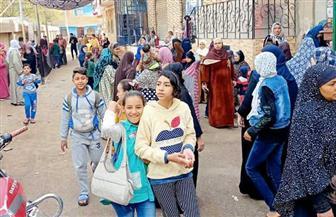 تزايد إقبال الناخبين على لجان قليوب للتصويت في بجولة الإعادة بانتخابات «النواب»   صور