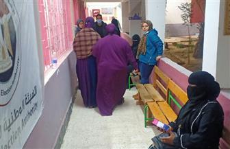 السيدات-الأكثر-إقبالا-على-التصويت-فى-الانتخابات-بجنوب-سيناء- -صور-