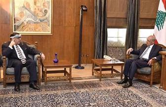 سفير مصر فى بيروت يناقش مع نبيه بري آخر المستجدات على الساحة اللبنانية