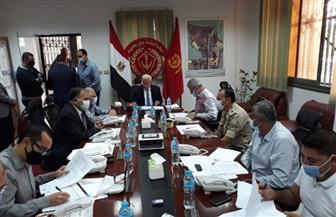 الغضبان يترأس غرفة العمليات الرئيسية لمتابعة سير انتخابات الإعادة فى يومها الأخير ببورسعيد | صور