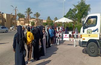 السيدات الأكثر إقبالا على انتخابات الإعادة بجنوب سيناء| صور