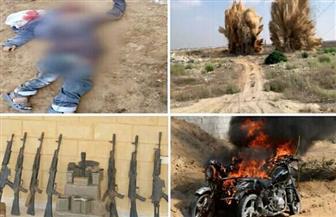 نص بيان القيادة العامة للقوات المسلحة عن رصد وتتبع وتدمير البؤر الإرهابية بشمال سيناء