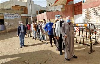 إقبال كبير على لجان القرى في جولة إعادة النواب بكفر الشيخ | صور