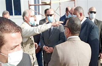 محافظ القاهرة يتفقد أعمال معالجة المياه داخل نفق الزعفران   صور
