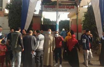 اللجان الانتخابية بالشرقية تشهد إقبالا من الناخبين للإدلاء بأصواتهم | صور