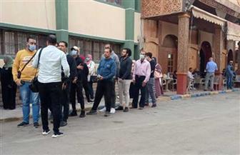إقبال متزايد مع انتصاف ثاني أيام انتخابات إعادة النواب بالإسماعيلية | صور