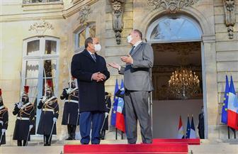 تفاصيل لقاء الرئيس السيسي برئيس الوزراء الفرنسي