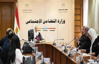 تفاصيل اجتماع اللجنة الوزارية لحماية ورعاية العمالة غير المنتظمة   صور