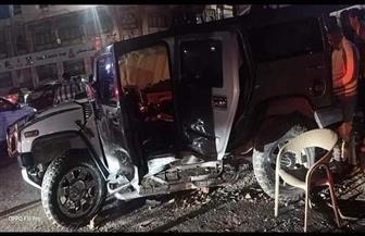 إبراهيم حسن يتعرض لحادث سير في الإسكندرية | صور