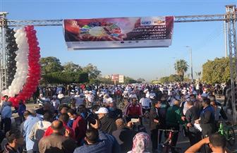 250 طالبا بالإسماعيلية شاركوا في ماراثون الاحتفال باليوم العالمي لمكافحة الفساد | صور