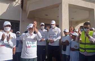 محافظ جنوب سيناء يشارك في ماراثون الدراجات بمدينة شرم الشيخ تحت شعار