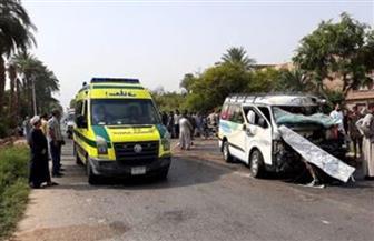 مصرع وإصابة 13 شخصا في حادث على طريق مطار دمياط الجديدة