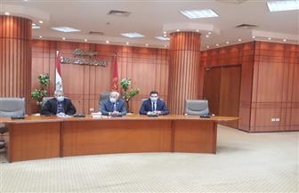 محافظ بورسعيد يشيد بمركز معلومات شبكات المرافق ويناقش تنفيذ المرحلة الثانية من المنحة الأوروبية| صور