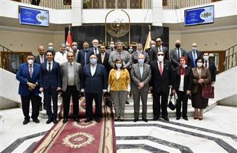 تفاصيل ندوة مكافحة الفساد بجامعة حلوان بحضور ممثلي هيئة الرقابة الإدارية   صور