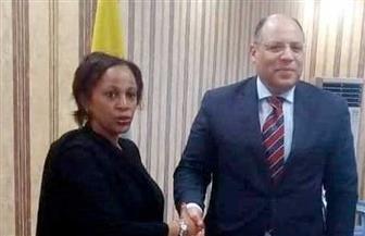 السفير المصري في جزر القمر يلتقي المدير العام للهيئة الوطنية القُمرية للتعاون الدولي