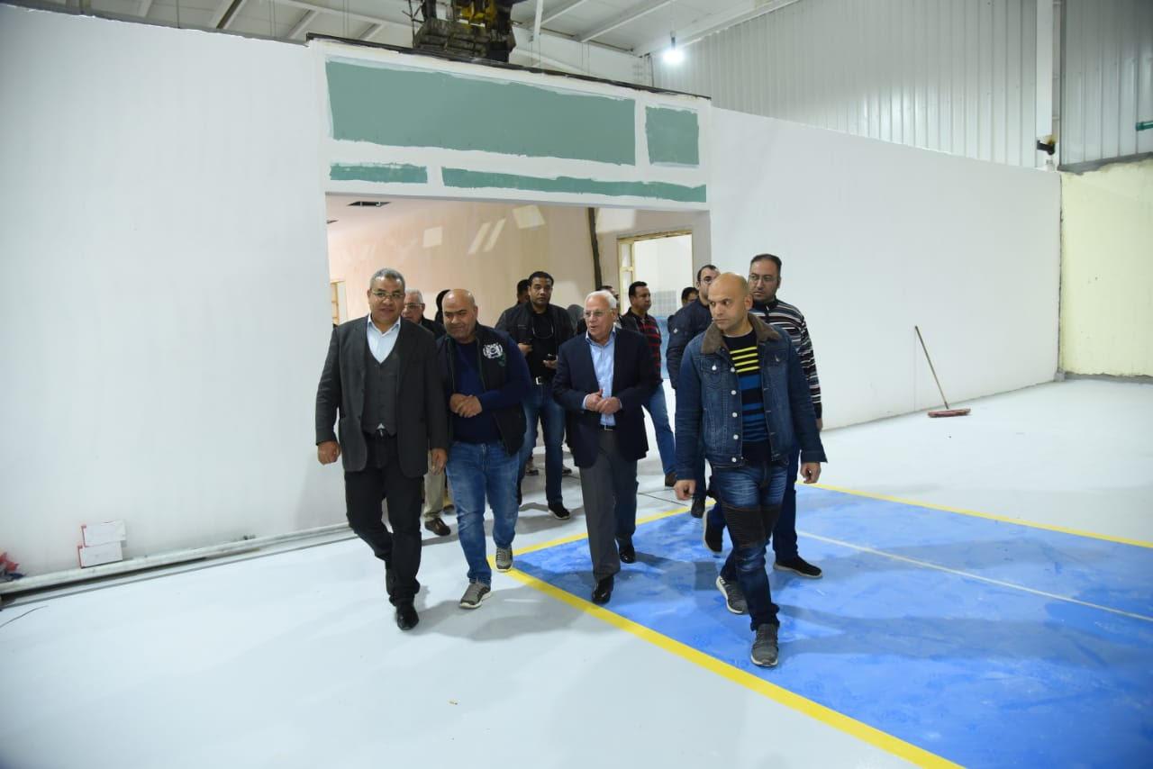 مصنع إطارات سيارات النقل ببورسعيد