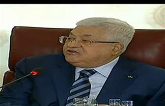 """أبو مازن: أبلغنا إسرائيل بقطع جميع العلاقات معها بما فيها """"الأمنية"""" ونحملهم المسئولية كدولة احتلال"""