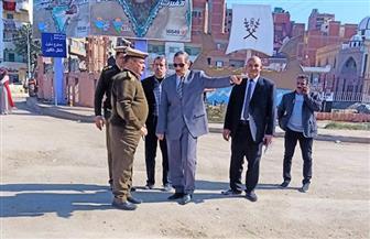 محافظ كفر الشيخ يتفقد المراحل الإنشائية لموقف القاهرة الجديد  صور