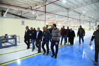 افتتاح المرحلة الأولى لمصنع إطارات سيارات النقل في بورسعيد باستثمارات 3 مليارات جنيه | صور