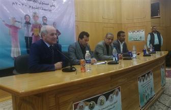 أشرف صبحى: الطالب الجامعي موضع اهتمام وزارة الشباب والرياضة | صور