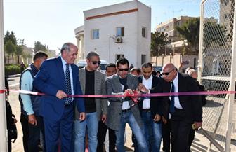 افتتاح ملاعب مركز الأنشطة الطلابية بجامعة الفيوم| صور