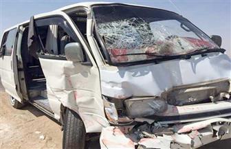 إصابة 3 مواطنين في حادث انقلاب سيارة على الطريق الصحراوي الشرقي بسوهاج