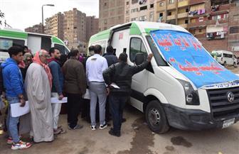 """وزيرة الصحة: تقديم الخدمة الطبية لـ3638 مواطنا في اليوم الأول للقافلة الطبية بـ""""عزبة الهجانة"""""""
