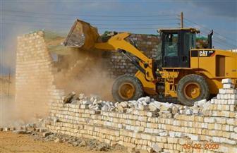 إزالة 287 حالة تعد على أراضي الدولة في بني سويف | صور
