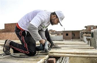 الأورمان تبدأ إعادة إعمار 60 منزلا بأسيوط