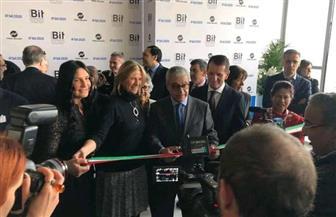 قنصل مصر في ميلانو يشارك في افتتاح البورصة الدولية للسياحة | صور