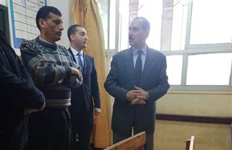 محافظ كفرالشيخ يتفقد مدرسة الأمل للصم والبكم