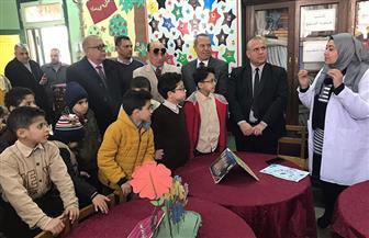 عبدالرؤوف ومكي يقودان حملة للتوعية والوقاية من الأمراض المعدية بمدارس المنصورة
